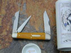 Great Eastern Tidioute Gec Osage Stockyard Whittler Knife Rare 1/407 Nmit 291319