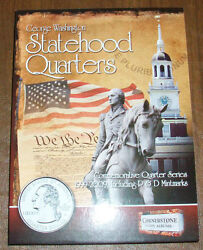 Complete Collection Bu Statehood Quarters D.c And U.s. Territories Of P And D
