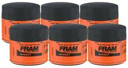 Fram Extra Guard Ph6607 Spin-on Oil Filter - Pack Of 6