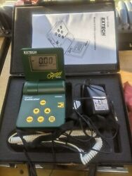 Extech Oyster 412300a Current And Voltage Calibrator / Meter W/ Carry Case