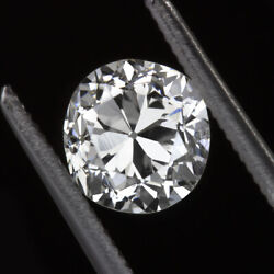 0.93ct Certified E Si2 Old Mine Cut Diamond Antique Vintage Loose Engagement 1ct