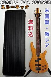 ibanez Usa Custom 4 Strings Electric Bass Guitar Shipped From Japan