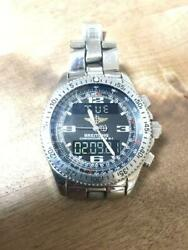 Breitling B-1 A78362 Stainless Steel Digital Wrist Watch Shipped From Japan