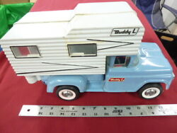 Buddy L Single Axle Spring Front Truck With Plastic Camper
