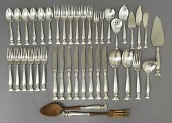 Wallace Sterling Silver Flatware Set Andndash Romance Of The Sea