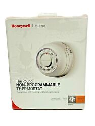 Honeywell The Round Heat Only Non-programmable Manual Thermostat Heating Cooling