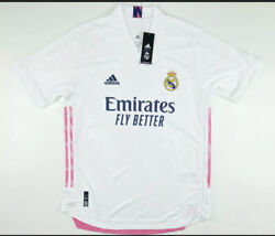 Adidas Real Madrid Emirates Official Team Issue Home Jersey Fm4736 2xl 130