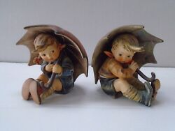 Hummel Umbrella Baby Set Repaired  152/0a And 152/0b Lm1