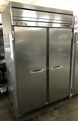 Beverage-air Er48-1as 46 Cu.ft. 52 Reach-in Refrigerator W/ Left And Right Doors