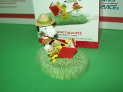Hallmark Beagle Scouts Learning the Ropes Snoopy amp; Woodstock 2014 Ornament