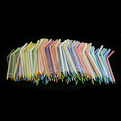 1000x Rainbow Disposable Dental Spray Nozzles Tips For 3-way Air Water Syringe