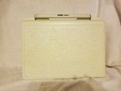 Vintage Sears Kenmore Portable Sewing Machine Rose Case Parts