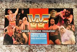 1997 Cardinal Wwf Wrestling Trivia Game Cards Are Still In Shrink Wrap Wwe