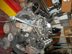 72-75 Mercedes 450 Sl Slc Sel Engine 117 982 Block, W/new Cams, And Oil Pan Heads