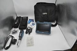 Exfo Max Tester Max-fip And Fip-435b Wireless Fiber Inspection Probe With Extras
