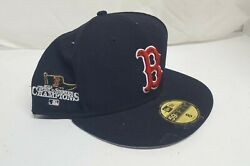2013 Red Sox World Series Hat New Era 59fifty 5950 Size 8