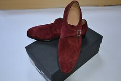 New Kiton Napoli Mens Dress Leather Shoes Made In Italy Size Eu 43 Uk 9 Us 10