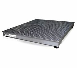 Rice Lake 106917 4x4-2500kg Summit 3000 Floor Scale With 120 Plus Indicator