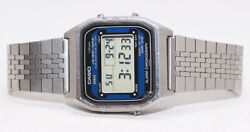 Rare Casio A254 A-254 Module 248 Vintage Lcd Digital Watch. Perfect Working