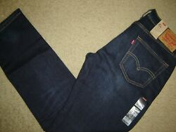 Nwt Levi's 511 Jeans 34 X 32 Slim Fit Retail 70  Style 04511-2369