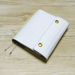 Leather cover for Hobonichi Techo A6 White $104.50