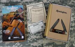 Remington R4466d The Cliffhanger 2015 Bullet Knife Damascus Limited Edition