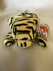 Ty Beanie Babies Stripes Ultra Rare New 2 Can Tags + More Investment Quality