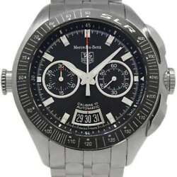 Free Shipping Pre-owned Tag Heuer Cag2111 Slr For Mercedes-benz Caliber 17