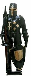 18 Gage Medieval Combat Full Body Armour Knight Suit Adult Halloween Larp
