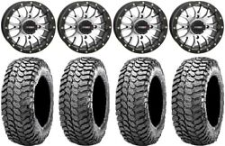 System 3 St-3 Machined 14 Wheels 30 Liberty Tires Yamaha Grizzly Rhino