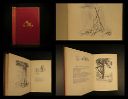 1927 Beautiful 1st Ed Winnie The Pooh Milne Now We Are Six Illustrated Rare
