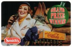 1997 Smith's 600m Woman, Coke Bottle And Skis 'grand Prize Winner' Phone Card