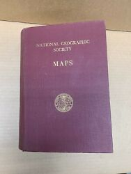 National Geographic Book Of Maps. 31 Us And World Maps Ex Condition Years And03944-and03957