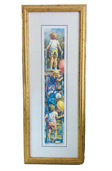 Lucelle Raad Social Climbers Print Artist Signed And Framed Numbered 551/950