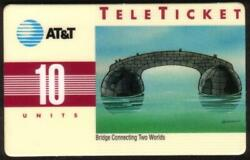 10u Bridge Connecting Two Worlds Group 3 = And039mnand039 Over Bar Chinese Phone Card