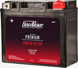 Premium Factory Activated Battery Gyz20h Ytx20 Ytx20h Harley Fatboy 1990-1992