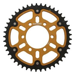 New Supersprox Stealth Sprocket, 7096-45 For Marvic 530 Pitch 6 Bolts 00, Gold