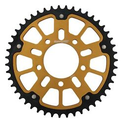 New Supersprox Stealth Sprocket, 47t For Marvic 525 Pitch 5 Bolts 00, Gold