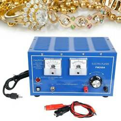 Platinum Silver Gold Plating Machine Jewelry Plater Electroplating Rectifier 30a