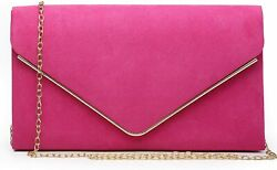 Dasein Women#x27;s Evening Clutch Bags Formal Party Clutches Wedding Purses Cocktail $46.14