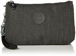 Kipling Womens Creativity Xl Pouch Black Peppery Extra Large Us