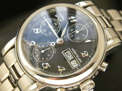 Star Chronograph 7016 Automatic Steel Calendar Menand039s 38mm