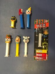 Vintage Collectible Pez Dispensers Variety Lot
