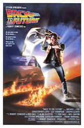 Back To The Future 1985 Movie Poster, Original, Ss, Unused, Nm, Rolled