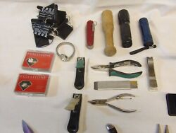 Junk Drawer Knives Plus Lots Of Extras