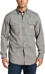 Menand039s Big And Tall Flame Resistant Classic Twill Shirt