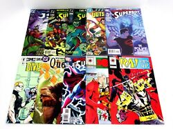 10 Issue Misc. Comic Lot See Pictures Superman, The Question, Outsiders Special