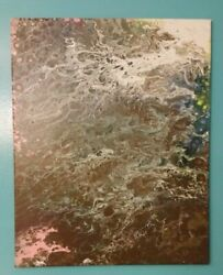 """One Of A Kind Original Painting Acrylic 16"""" X 20"""" Canvas The Night Goes On"""