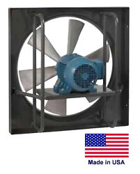Exhaust Fan Commercial - Explosion Proof - 24 - 3/4 Hp - 115/230v - 6900 Cfm