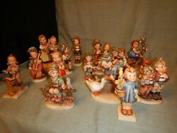 Lot Of 15 Hummel Goebel Figurines Start Your Collection Today